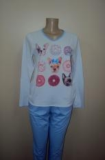Pijama 9777 bulldog frances (Mix 9990)